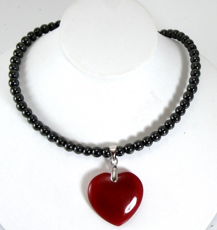red pendant mcphee thomas by buy online shop glass crystal kiln heart cast