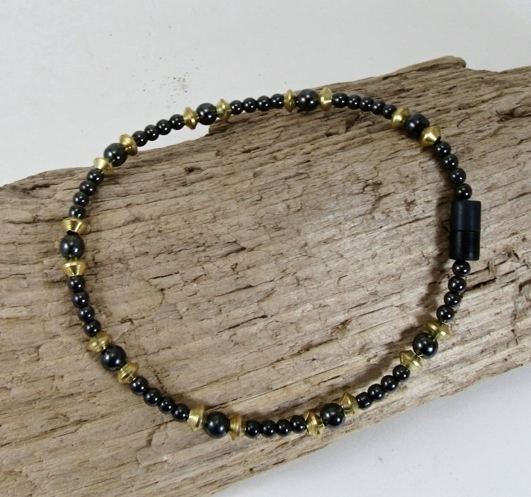 bracelets s thumb with and obsidian to twist anklet vivian snowflake double strand stones bead black magnetic welcome