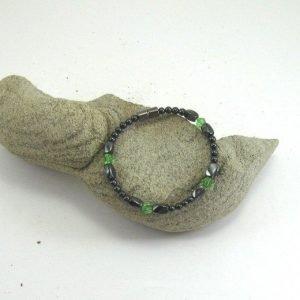 Women S Magnetic Magnetite Jewelry Single Bracelet Green